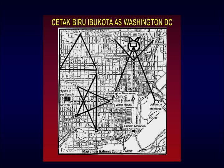 CETAK BIRU IBUKOTA AS WASHINGTON DC