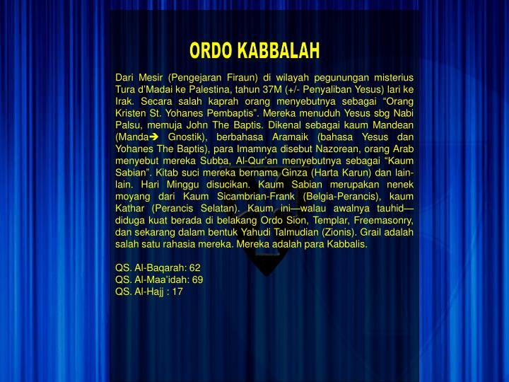 ORDO KABBALAH