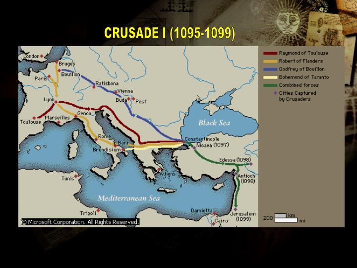 CRUSADE I (1095-1099)