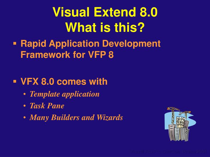 Visual Extend 8.0