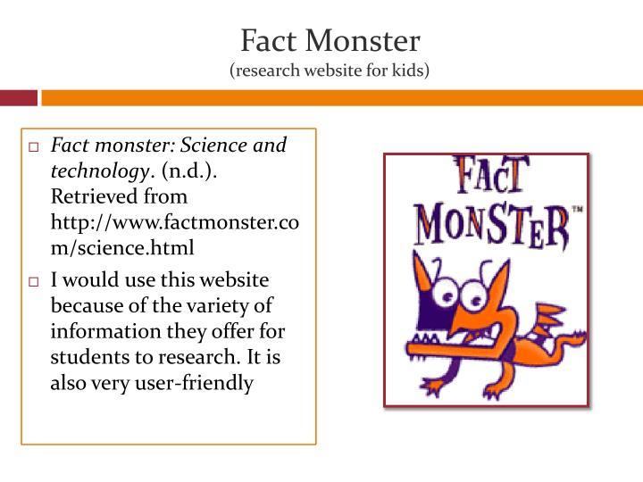 Fact Monster