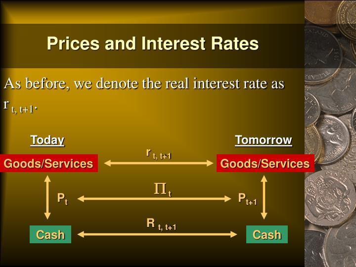 Prices and Interest Rates