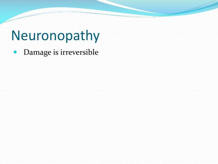 Neuronopathy