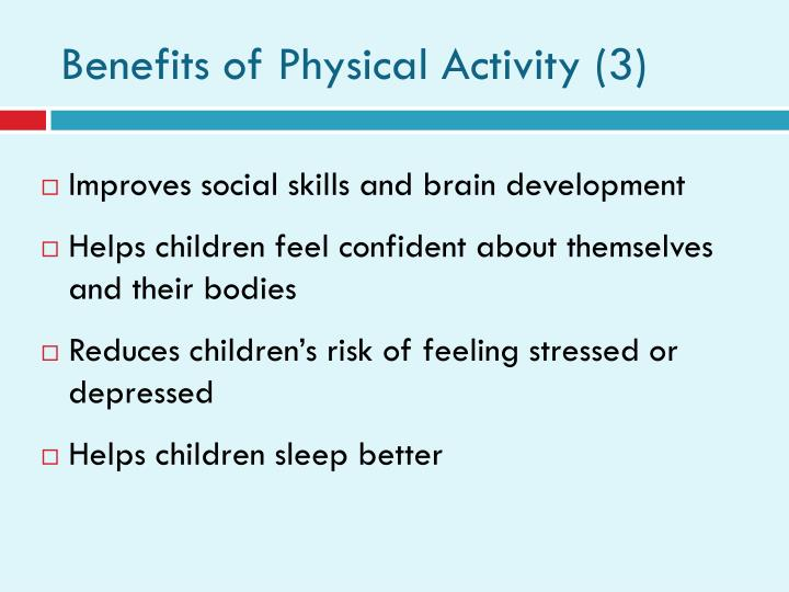 Benefits of Physical Activity (3)