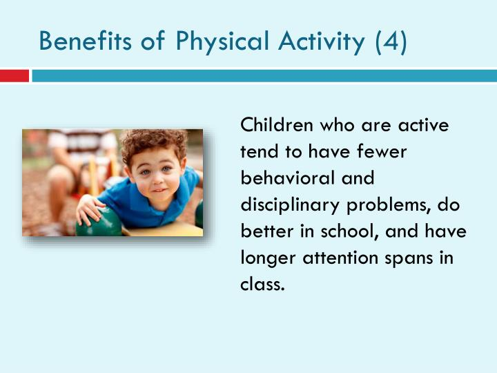 Benefits of Physical Activity (4)