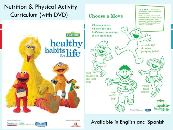Nutrition & Physical Activity Curriculum (with DVD)