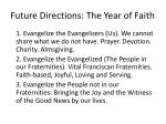 future directions t he year of faith