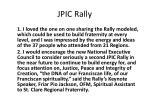 jpic rally