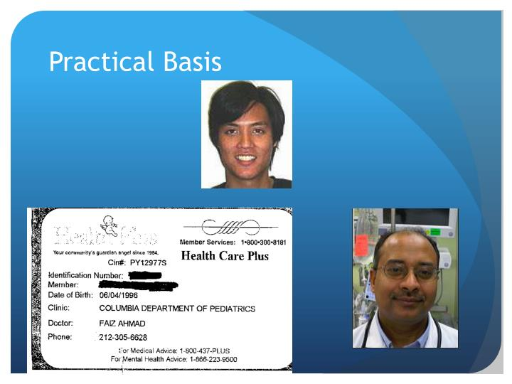 Practical Basis