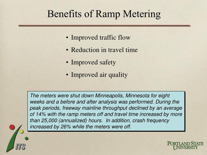 Benefits of Ramp Metering