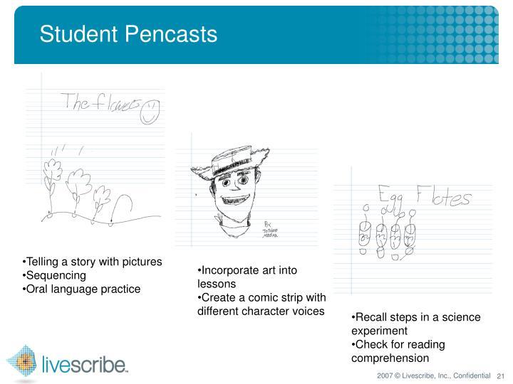 Student Pencasts