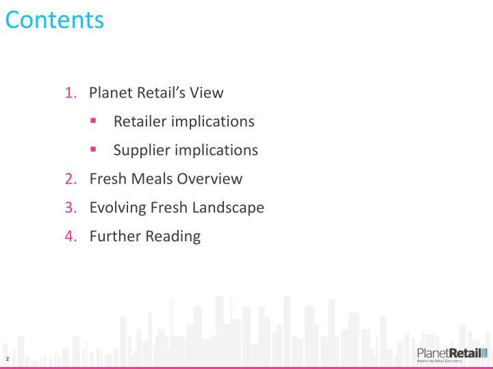 Planet Retail's View