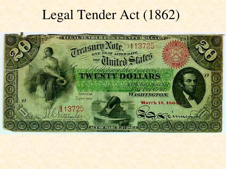 Legal Tender Act (1862)