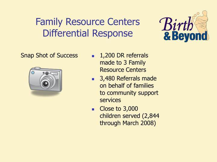 Family Violence Prevention & Services Resource Centers