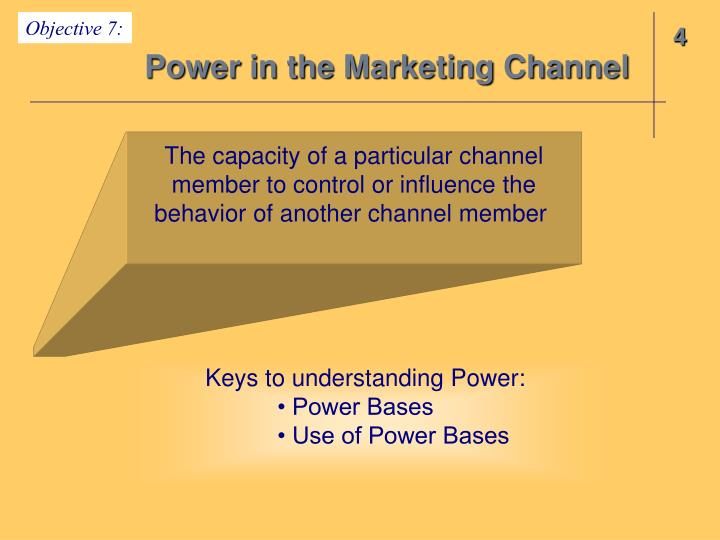 Power in the Marketing Channel