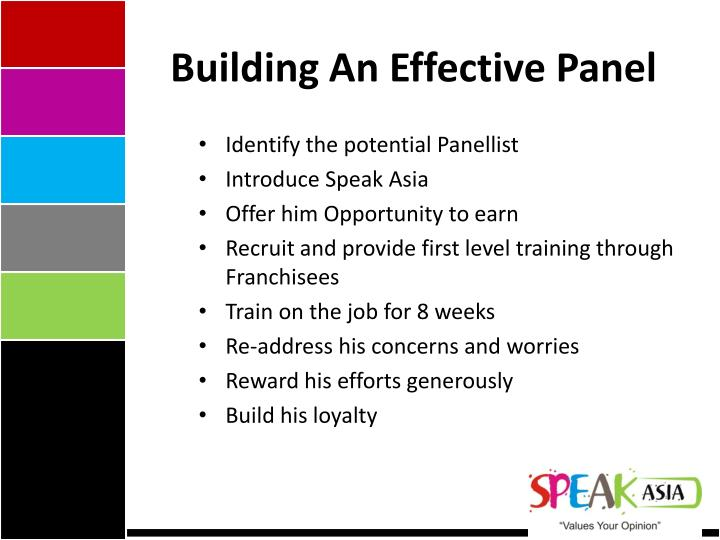 Building An Effective Panel