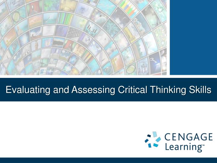 promoting and assessing critical thinking Free essay: the american nurses association (ana) recognizes that critical thinking (ct) is an integral part of each step in the nursing process (ana, 2010.