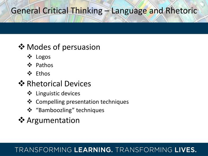 critical thinking training ppt Basic critical thinking skills essentials of clear thinking: claims and issues notes on claims a claim is a statement that is either true or false, though this cannot.