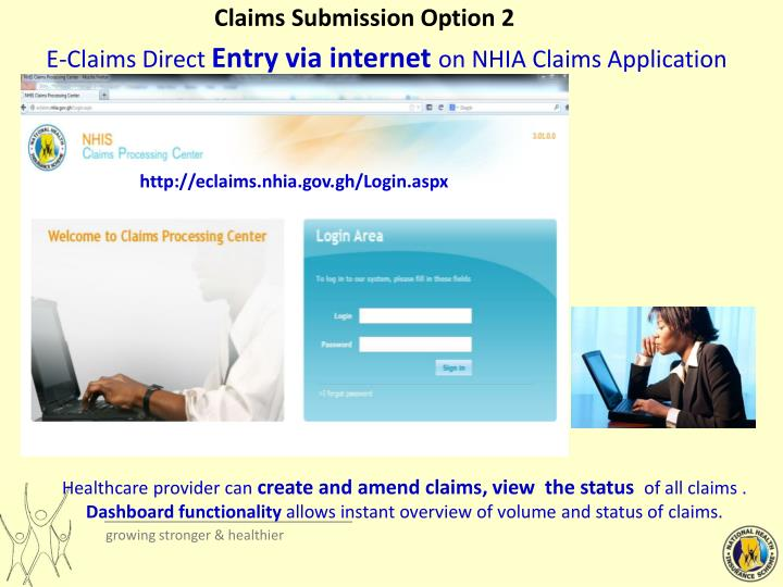 Claims Submission Option 2