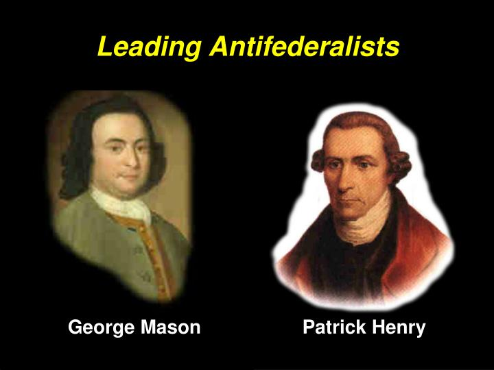 Leading Antifederalists