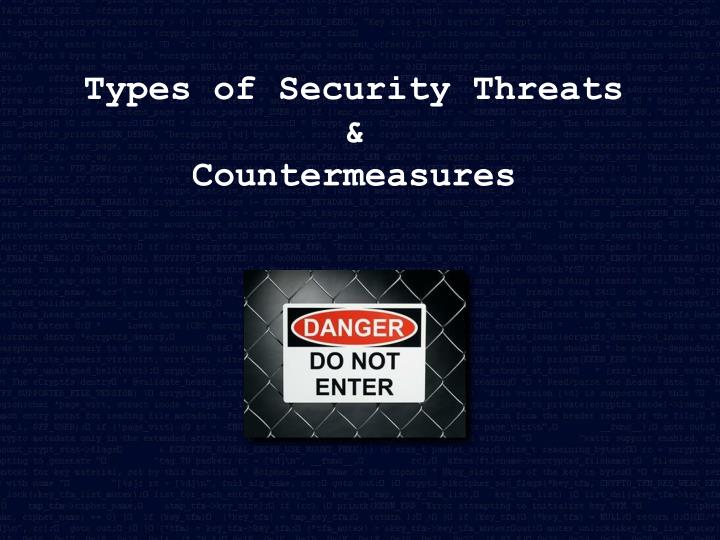 Types of Security Threats