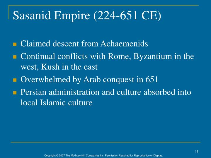Sasanid Empire (224-651 CE)