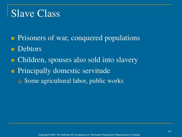 Slave Class