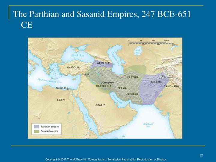 The Parthian and Sasanid Empires, 247 BCE-651 CE