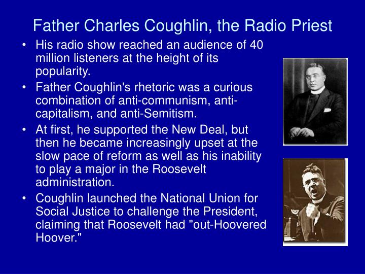 Father Charles Coughlin, the Radio Priest