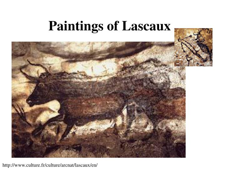 Paintings of Lascaux