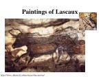 paintings of lascaux