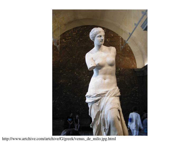 http://www.artchive.com/artchive/G/greek/venus_de_milo.jpg.html