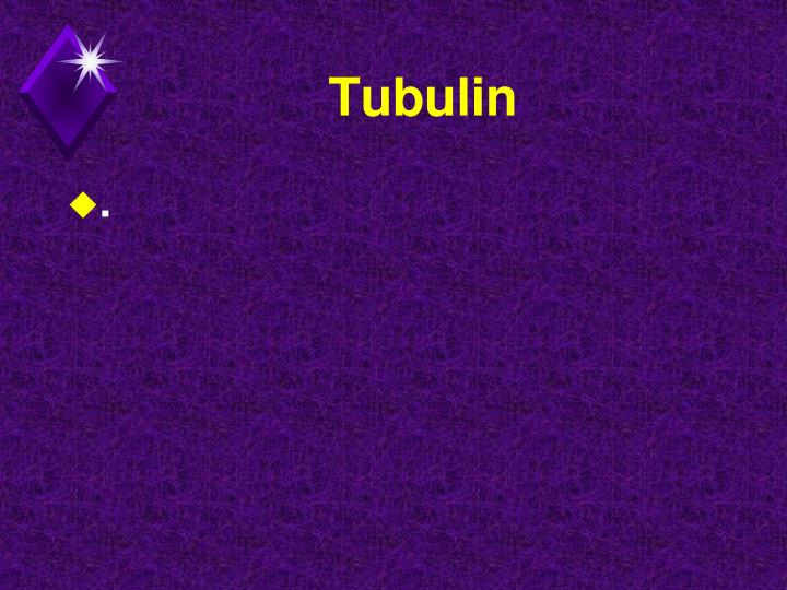 Tubulin