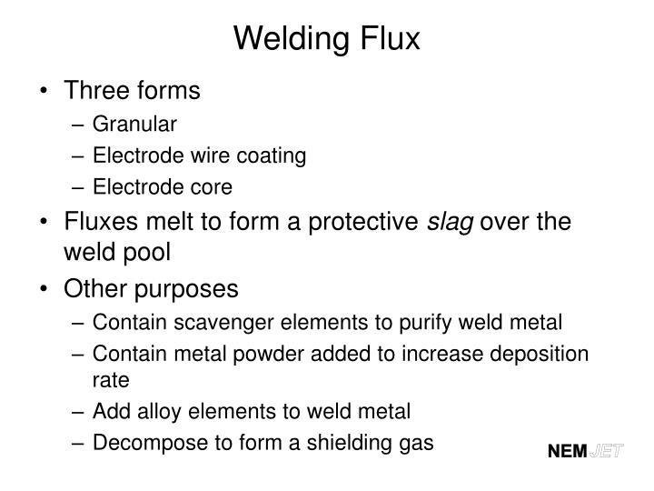 Welding Flux