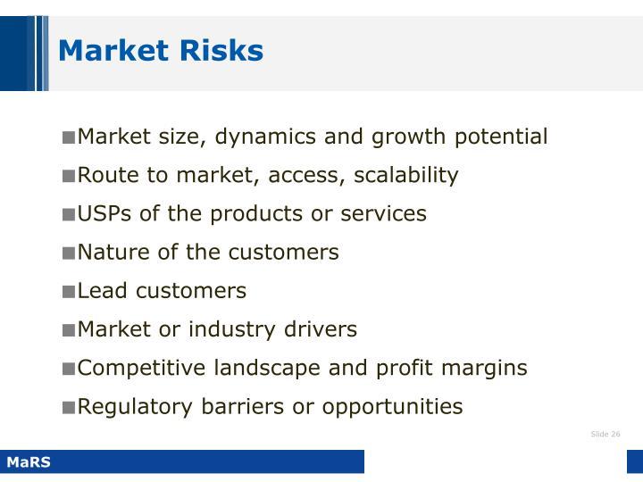 Market Risks