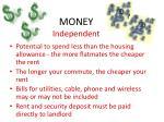 money independent