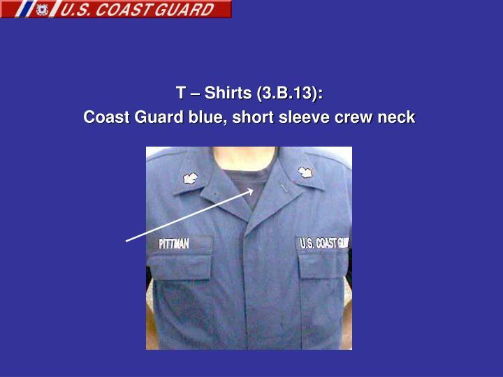 T – Shirts (3.B.13):