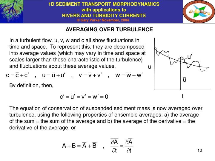 AVERAGING OVER TURBULENCE