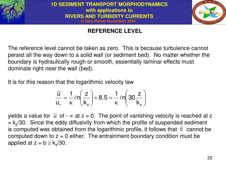 REFERENCE LEVEL