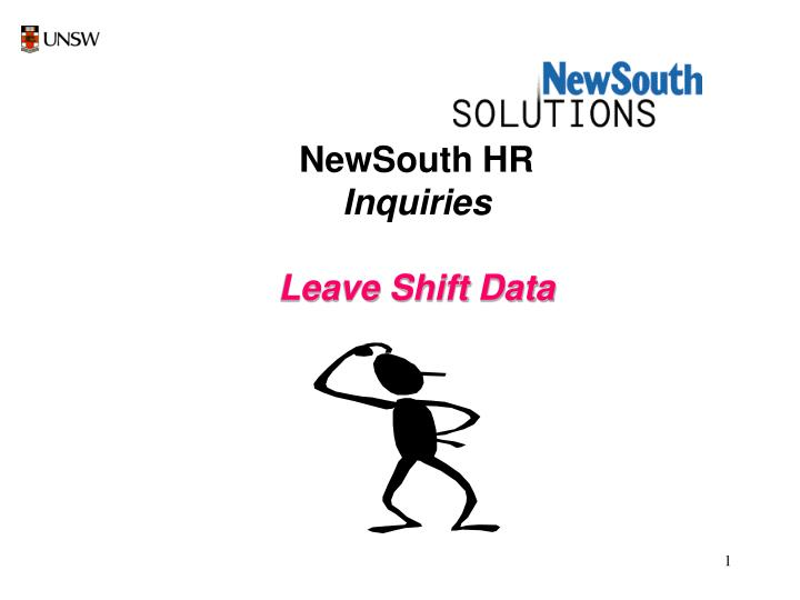 NewSouth HR