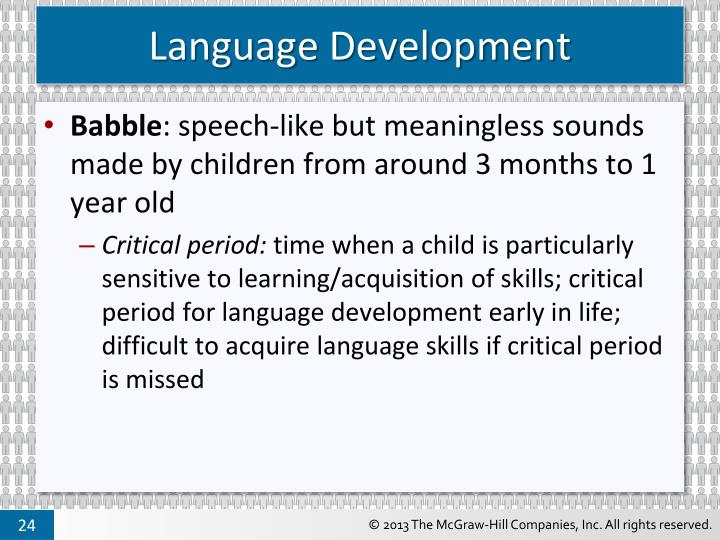 is there a critical period for Second language acquisition and the critical period • is what we would expect if there is critical period • newer research reevaluates this, shows.
