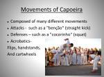 movements of c apoeira