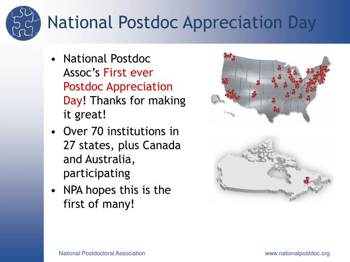 National Postdoc Appreciation Day
