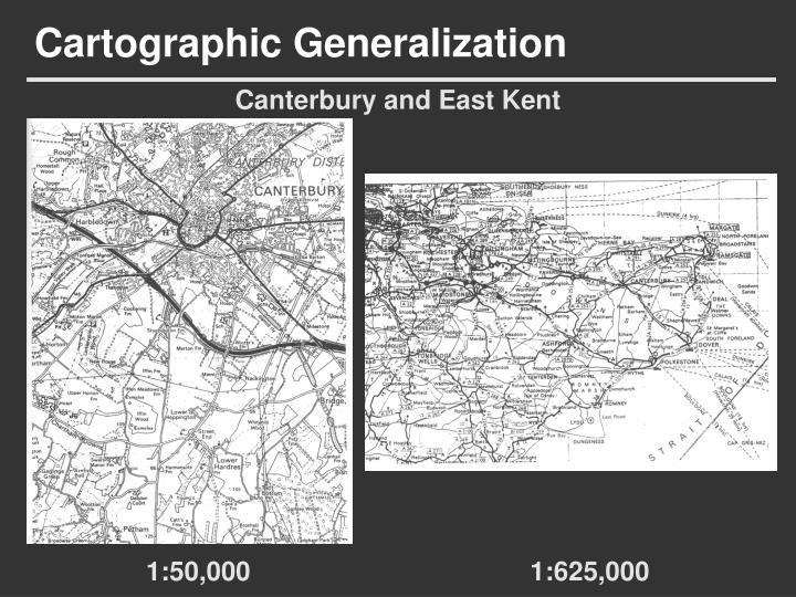 Cartographic Generalization
