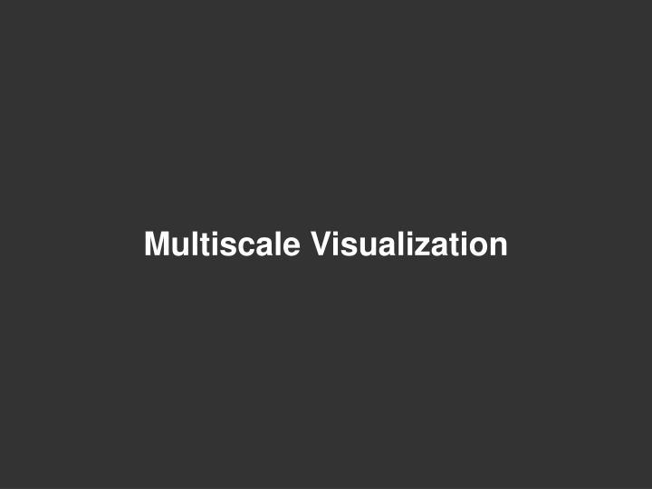 Multiscale Visualization