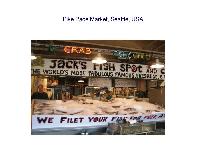 Pike Pace Market, Seattle, USA