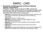 nwrc cwd