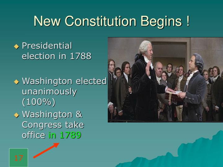 Presidential election in 1788