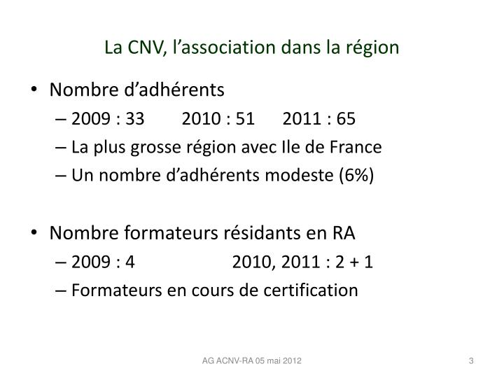 AG ACNV-RA 05 mai 2012