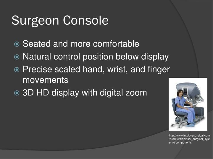 Surgeon Console